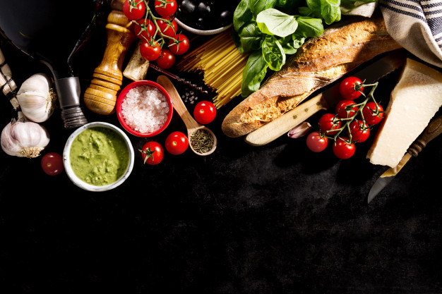 What are the methods of cooking food