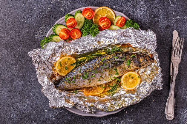How to make fish tinfoil