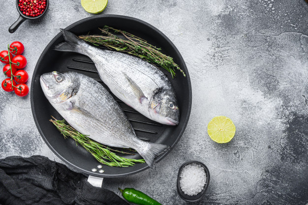 How to make seabream