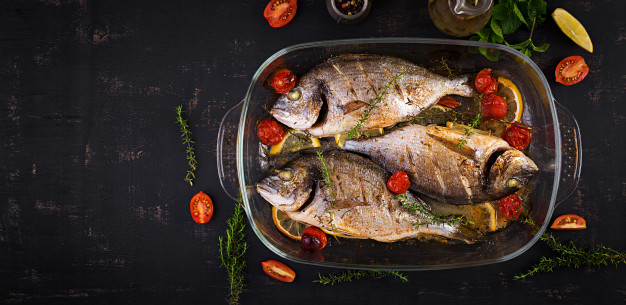 How to make Mira fish in the oven