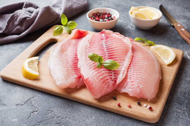 How to make frozen fish fillet in the oven