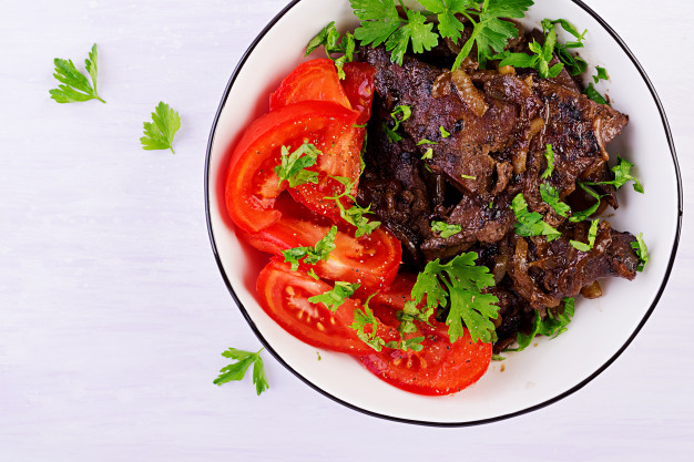 How to cook beef liver