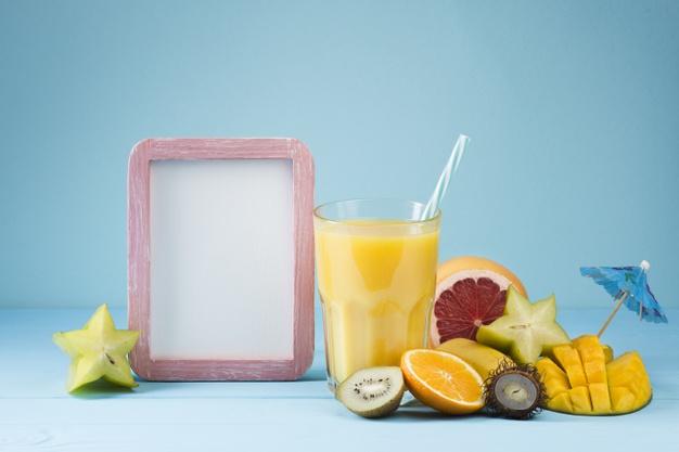 How to make mango banana juice