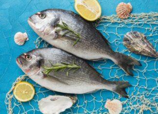 Coral fish recipe in home