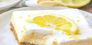 Lemon dessert recipes