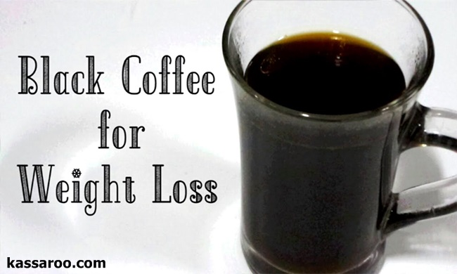 How to make black coffee for weight loss