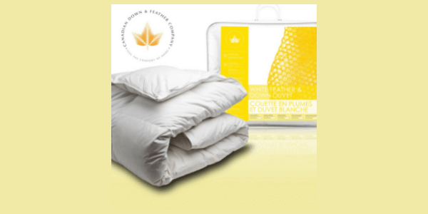White feather and down duvet review