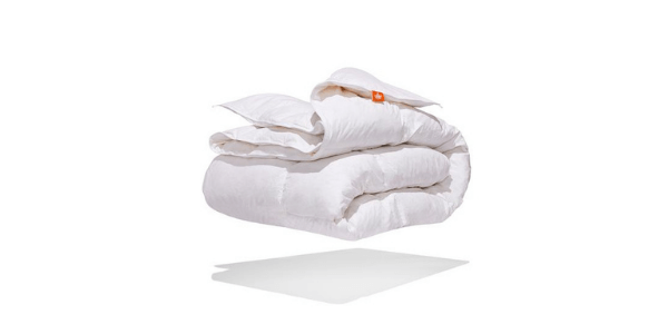 White goose feather duvet review