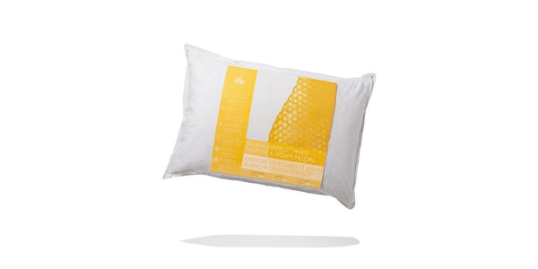 Down Perfect white feather & down pillow review