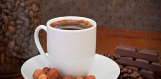 How to make hazelnut french coffee at home
